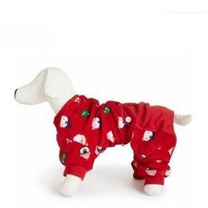 Family Pj's Dog Pajama Large NWT